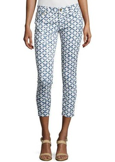 MICHAEL Michael Kors Musenyi Printed Skinny Cropped Jeans