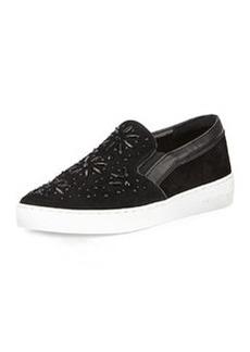 MICHAEL Michael Kors Nadine Embellished Slip-On Sneaker