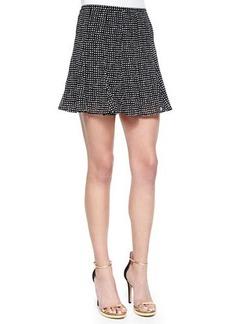 MICHAEL Michael Kors Nezla Dot-Print Flare Skirt