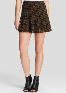 MICHAEL Michael Kors Nezla Graphic Mini Skirt
