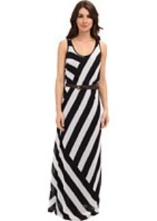 MICHAEL Michael Kors Ocean Stripe Racerback Maxi Dress