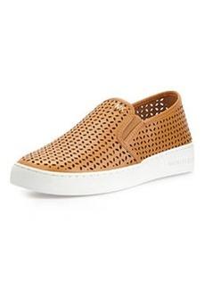 MICHAEL Michael Kors Olivia Perforated Slip-On Sneaker, Peanut