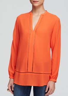 MICHAEL Michael Kors Open Knit Seam Tunic