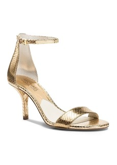 MICHAEL Michael Kors Open Toe Ankle Strap Sandals - Kristen High Heel