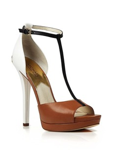 MICHAEL Michael Kors Open Toe Platform T Strap Sandals - Brenna - Bloomingdale's Exclusive