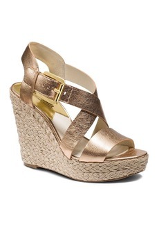 MICHAEL Michael Kors Open Toe Platform Wedge Espadrille Sandals - Giovanna