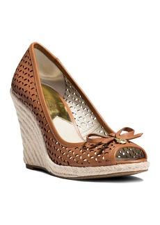 MICHAEL Michael Kors Open Toe Platform Wedge Espadrille Sandals - Olivia