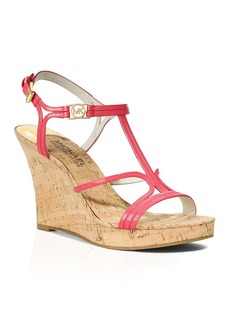 MICHAEL Michael Kors Open Toe Platform Wedge Sandals - Cicely