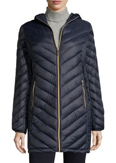 MICHAEL Michael Kors Packable Down-Blend Puffer Coat