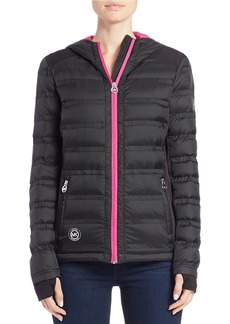 MICHAEL MICHAEL KORS Packable Hooded Jacket
