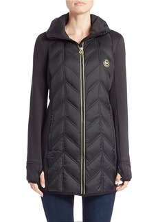 MICHAEL MICHAEL KORS Packable Quilted Coat