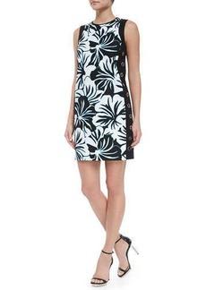 MICHAEL Michael Kors Paradise Print Grommet Dress