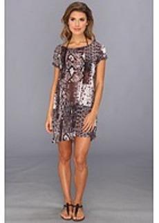 MICHAEL Michael Kors Patchwork Snake Cover-Up Dress
