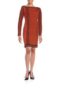 MICHAEL MICHAEL KORS Patterned Shift Dress