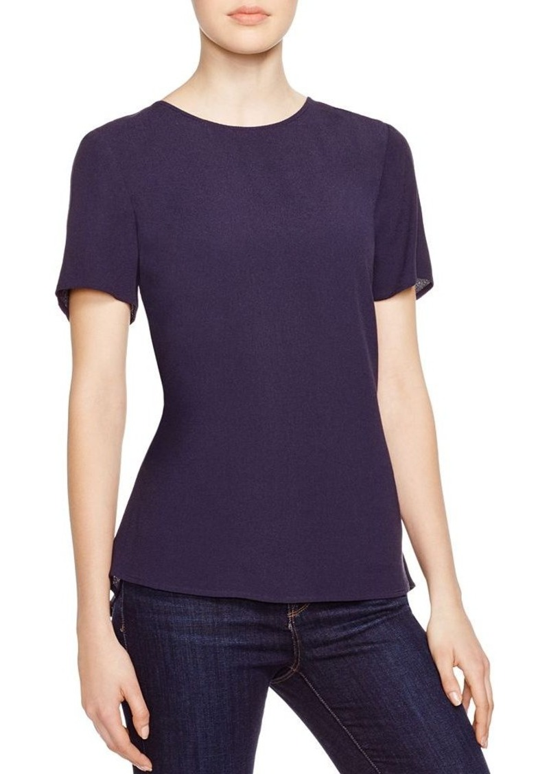 Michael michael kors michael michael kors peplum top for Michael kors mens shirts sale