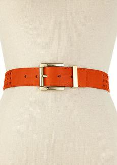 MICHAEL Michael Kors Perforated Pant Belt