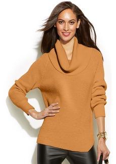 MICHAEL Michael Kors Petite Chunky Knit Cowl-Neck Sweater
