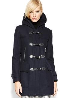 MICHAEL Michael Kors Petite Hooded Toggle Coat