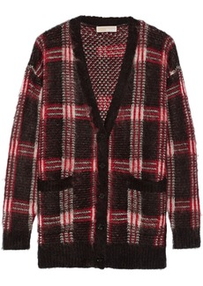 MICHAEL Michael Kors Plaid knitted cardigan