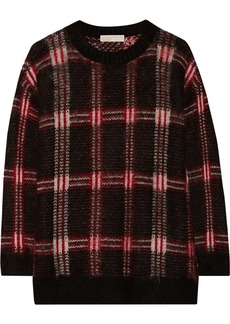 MICHAEL Michael Kors Plaid knitted sweater