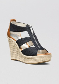 MICHAEL Michael Kors Platform Wedge Sandals - Damita