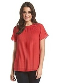 MICHAEL Michael Kors® Pleated Neck Top