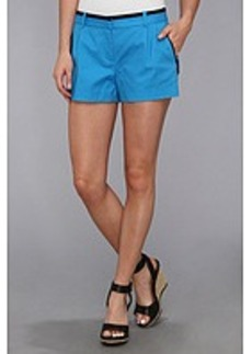 MICHAEL Michael Kors Pleated Zip Short