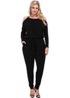 MICHAEL Michael Kors Plus Size Chain Strap Jumpsuit