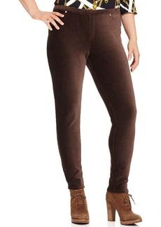 MICHAEL Michael Kors Plus Size Corduroy Skinny Pull-On Pants