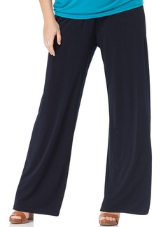 MICHAEL Michael Kors Plus Size Elastic-Waist Wide-Leg Pants