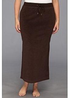 MICHAEL Michael Kors Plus Size Terry Cloth Maxi Skirt w/ Side Slits