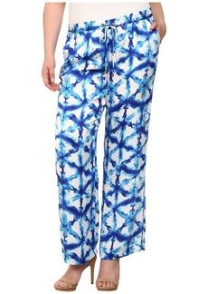 MICHAEL Michael Kors Plus Size Tie-Dye Wideleg Pants