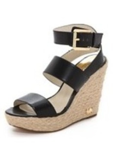 MICHAEL Michael Kors Poesy Wedge Sandals