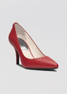 MICHAEL Michael Kors Pointed Toe Pumps - Flex High Heel
