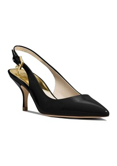 MICHAEL Michael Kors Pointed Toe Slingback Pumps - Kelsey Kitten Heel