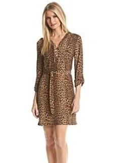 MICHAEL Michael Kors® Printed Chain Tie Dress