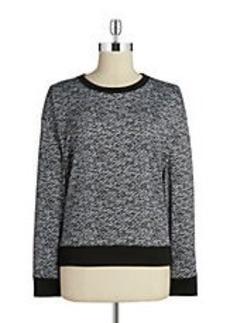 MICHAEL MICHAEL KORS Printed Crewneck Sweater
