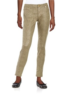 MICHAEL MICHAEL KORS Printed Knit Skinny Pants