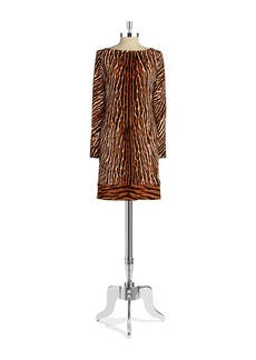 MICHAEL MICHAEL KORS Printed Shift Dress