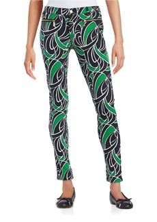 MICHAEL MICHAEL KORS Printed Skinny Jeans