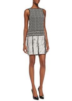 MICHAEL Michael Kors Printed/Herringbone Dress