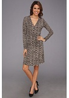 MICHAEL Michael Kors Python L/S Wrap Dress