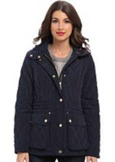 MICHAEL Michael Kors Quilted Anorak Zip Fly Front Snap