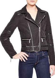 MICHAEL Michael Kors Quilted Moto Jacket