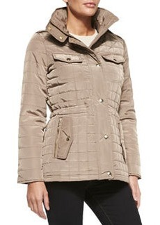 MICHAEL Michael Kors Quilted Puffer Anorak Jacket