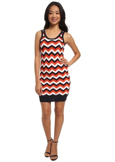 MICHAEL Michael Kors Racked Stripe Tank Dress