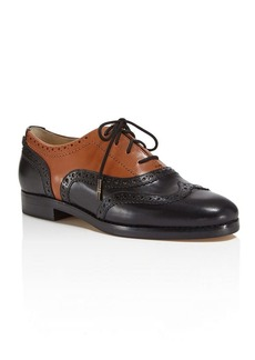 MICHAEL Michael Kors Regent Two-Tone Lace Up Oxfords
