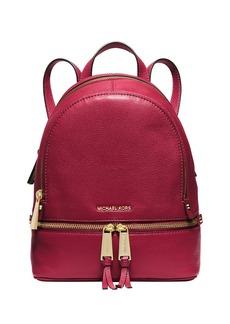 MICHAEL MICHAEL KORS Rhea Leather Mini Backpack