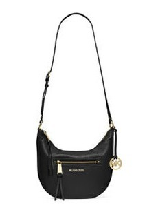 MICHAEL Michael Kors Rhea Medium Zip Bag, Black
