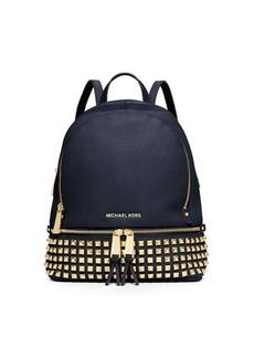 MICHAEL Michael Kors Rhea Small Studded Leather Backpack